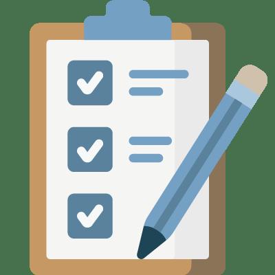 Checklist sign